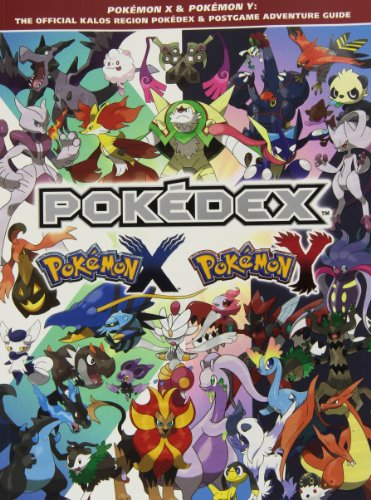Pokemon X & Pokemon Y: The Official Kalos Region Pokedex & Postgame Adventure Guide 9781908172570 Crucial data on more than 450 Pokemon, including their moves, locations, stats, and Evolutions! Detailed guides on Pokemon Eggs and how
