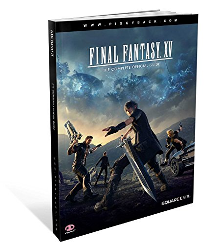 9781908172990: FINAL FANTASY XV COMPLETE OFFICIAL GUIDE STANDARD ED HC