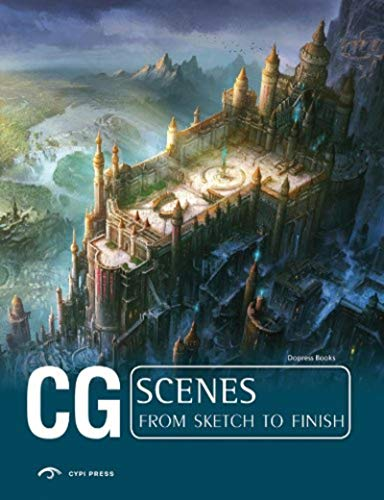9781908175427: CG scenes from sketch to finish