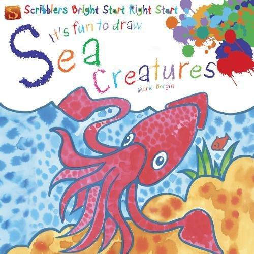 It's Fun to Draw Sea Creatures: Bergin, Mark