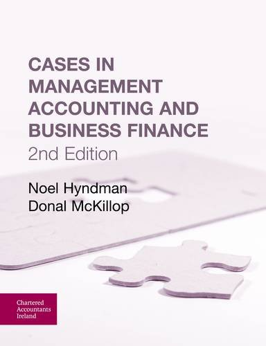 9781908199027: Cases in Management Accounting and Business Finance