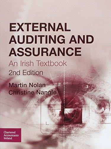 9781908199461: External Auditing and Assurance: An Irish Textbook