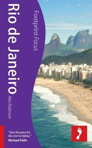 Rio de Janeiro (Footprint Focus Guide): Robinson, Alex