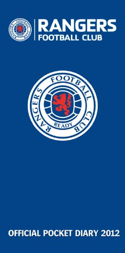 9781908221155: Official Rangers FC Slim Diary 2012