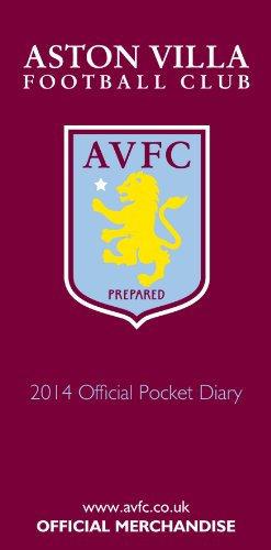 Official Aston Villa FC 2014 Diary