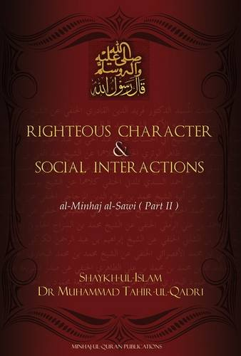 9781908229021: Righteous Character & Social Interactions