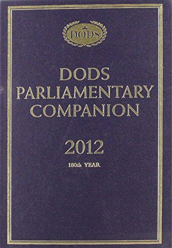 Dods Parliamentary Companion 2012: Sinclair, Maggie