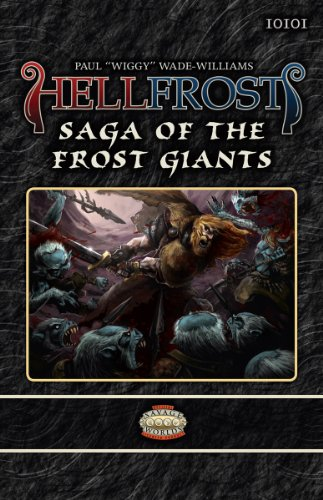 9781908237040: Hellfrost Saga of the Frost Giants (Savage Worlds)