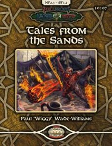 9781908237262: Land of Fire Tales from the Sands (Savage Worlds, TAG10107)