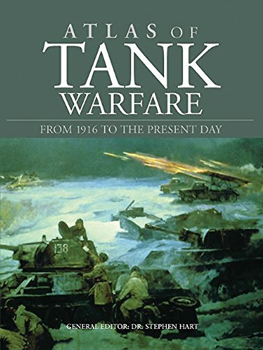 9781908273796: Atlas of Tank Warfare: From 1916 to the Present Day