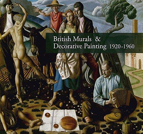 British Murals Decorative Painting 1920-1960 (Hardback): Alan Powers