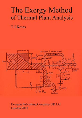 9781908341891: The Exergy Method of Thermal Plant Analysis