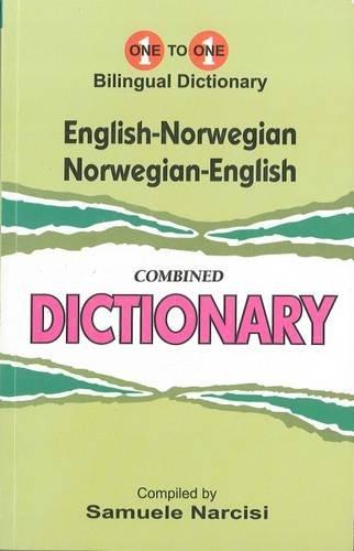 English-Norwegian & Norwegian-English One-to-One Dictionary: S Narcisi