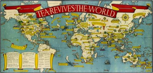9781908402790: Gill's Tea Revives the World map, 1940