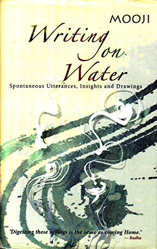 9781908408013: Writing on Water: Spontaneous Utterances, Insights and Drawings