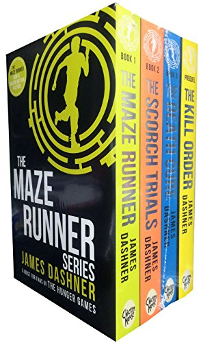 9781908435583: Maze Runner Series Shrink Wrap