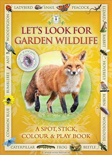 9781908489074: Let's Look for Garden Wildlife: A Spot & Learn, Stick & Play Book