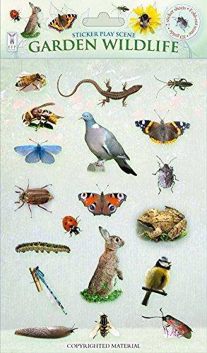 9781908489180: Sticker Play Scenes: Garden Wildlife