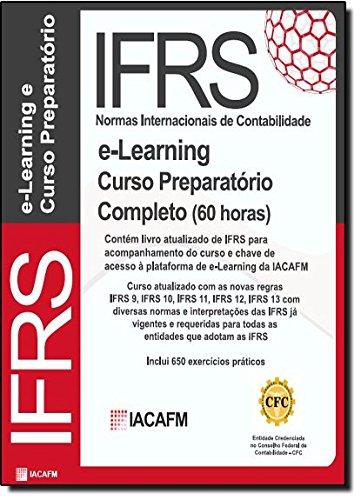 9781908514875: E-Learning - IFRS - Normas Internacionais de Contabilidade - Curso Completo (60 Horas) (Portuguese Edition)