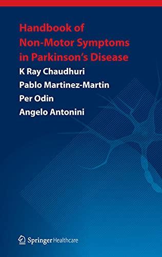 9781908517609: Handbook of Non-Motor Symptoms in Parkinson's Disease