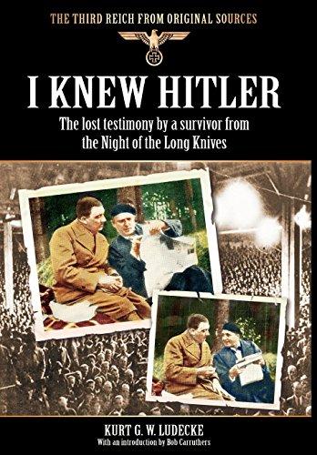 9781908538529: I Knew Hitler (Third Reich from Original Sources)