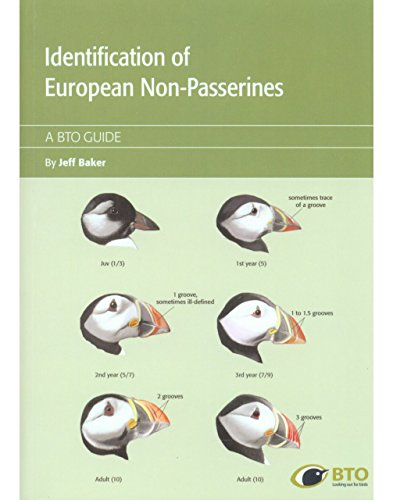 9781908581679: Identification Guide of European Non-Passerines (BTO Guides)
