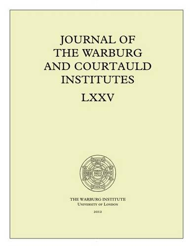 9781908590015: Journal of the Warburg and Courtauld Institutes, v. 75 (2012)