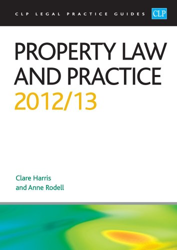 9781908604842: Property Law and Practice (CLP Legal Practice Guides)