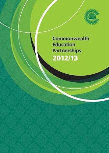 Commonwealth Education Partnerships 2012/13