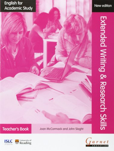 9781908614315: English for Academic Study: Extended Writing & Research Skills Teacher's Book - Edition 2