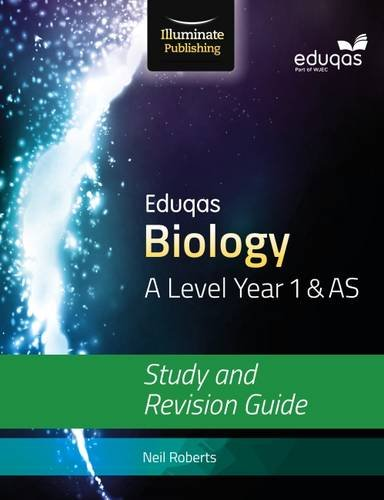 9781908682642: Eduqas Biology for A Level Year 1 & AS: Study and Revision Guide