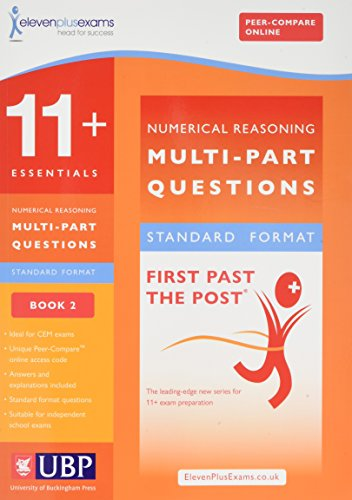 9781908684363: 11+ Essentials Numerical Reasoning: Book 2: Maths Worded Problems (11 + Essentials (First Past the Post))