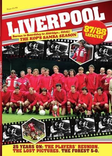 9781908695536: Liverpool 87/88 Uncut