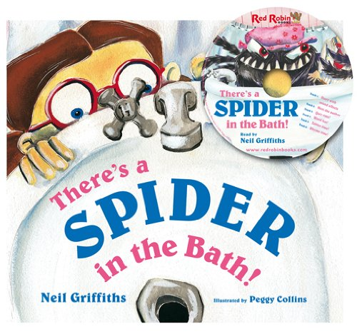 9781908702050: There's a Spider in the Bath! (Book & CD)