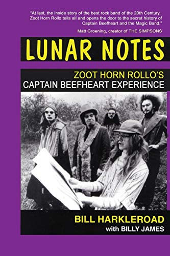 9781908728340: Lunar Notes - Zoot Horn Rollo's Captain Beefheart Experience
