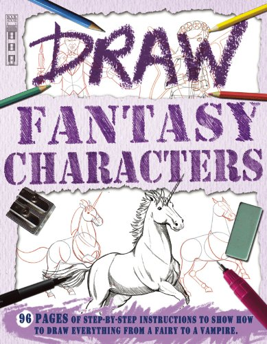 9781908759719: Draw Fantasy Characters (Book House Draw Series)