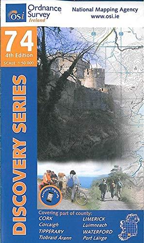 Cork, Limerick, Tipperary, Waterford (Irish Discovery Series): Ordnance Survey Ireland