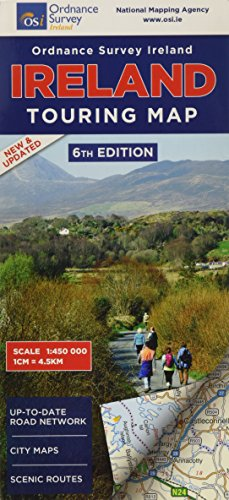 Irlande Touring Map (Irish Maps, Atlases and Guides): Collectif