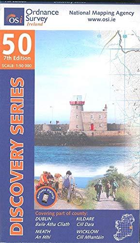 Irish Discovery Series 50. Dublin, Kildare, Meath and Wicklow 1 : 50 000