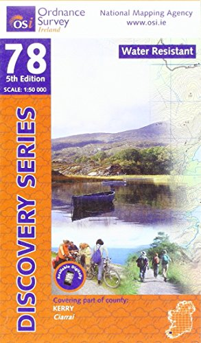 Discovery Map 78 Kerry Weatherproof (Discovery Map Waterproof)