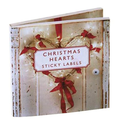 Christmas Hearts Sticky Gift Labels (Sticky Labels): CICO Books