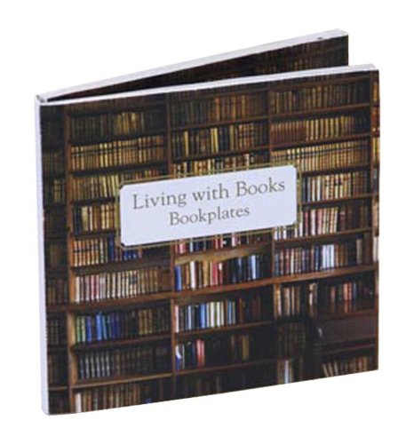 Living with Books Bookplates: Paperstyle
