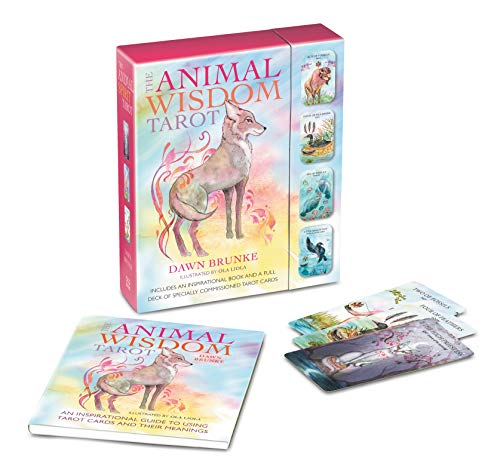 The Animal Wisdom Tarot: An inspirational guide to using tarot cards and their meanings: Brunke, ...