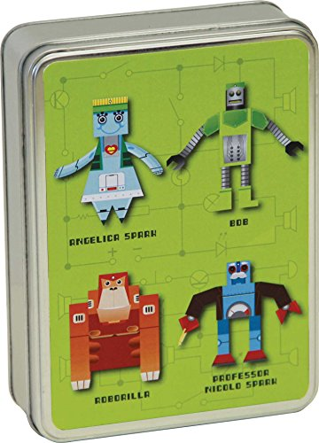 9781908862976: Paper Robots Pop-up Cards in Tin