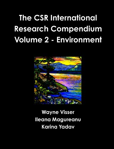 9781908875204: The Csr International Research Compendium: Volume 2 - Environment