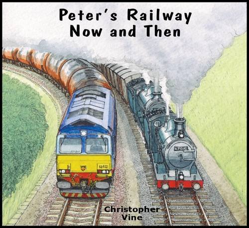 9781908897008: Peter's Railway Now and Then