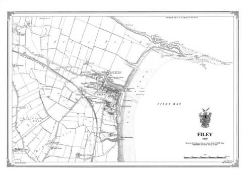 9781908914132: Filey 1849 Heritage Cartography Victorian Town Map (Heritage Cartography Victorian Town Map Series)