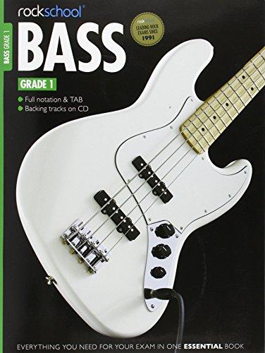 9781908920102: Rockschool Bass Grade 1