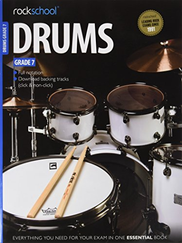 9781908920256: Rockschool Drums Grade 7 (2012-2018)
