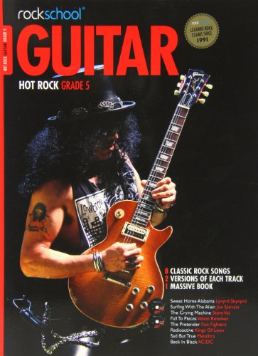9781908920355: Rockschool Hot Rock Guitar Grade 5